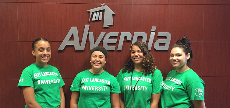 Advantage Lancaster Visits Alvernia University