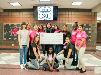PINK Lancaster Proceeds Awarded to the Ann B. Barshinger Cancer Institute and Tour De Pink.